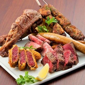 肉!肉!肉!お肉好きにはたまらないお店です♪ガッツリ食べて飲めるお店!