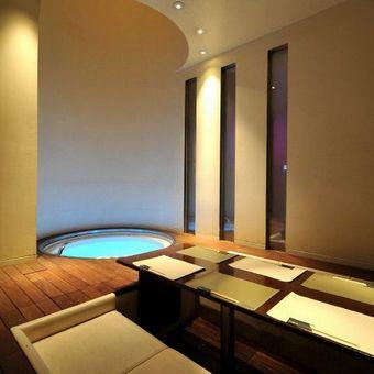 足湯まである個室!とにかく楽しめる空間が魅力☆
