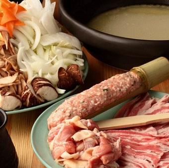 ちゃんこ鍋は九重部屋の味をそのままに提供!