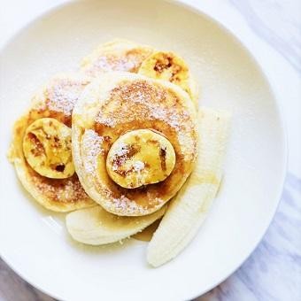 「世界一の朝食」と称されるbills看板メニューのリコッタパンケーキ♪