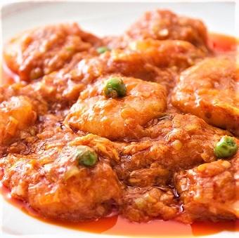 「辛さの四川」は、他の料理にはない独特な調味が特徴。