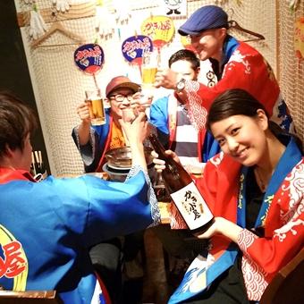 ≪駅チカ≫接客未経験さんも大歓迎♪楽しい仲間と楽しくお仕事しよう!かき小屋町田店でホールスタッフ♪