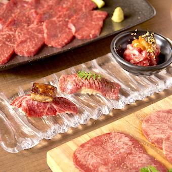今では貴重な生肉料理を思う存分楽しめます。