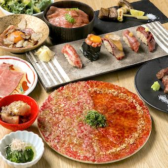 5つの調理法で提供される肉料理は、職人の腕が確かな証拠です。