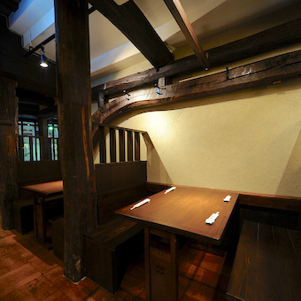 内装も木を基調とした作りでとても落ち着きがあります。