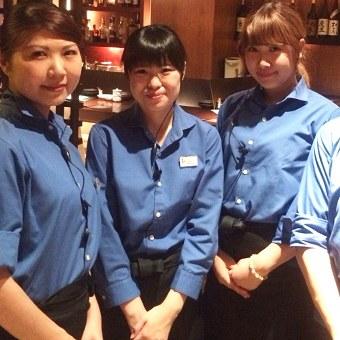 未経験OK!時給1200円の浜松町で人気のお洒落な居酒屋でホール!