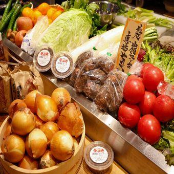 毎朝届く新鮮な佐賀野菜たち