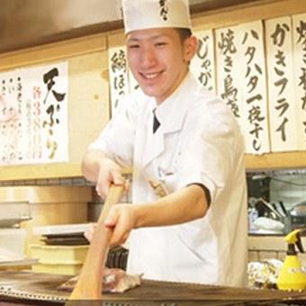週3日〜1日3h〜OK!友達一緒応募も!魚のさばき方も学べちゃうキッチンバイト!