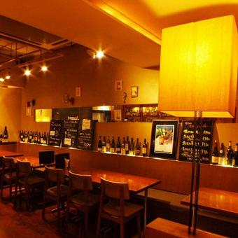 ヨーロッパの田舎料理とワインが自慢!隠れ家バーでホールのお仕事☆