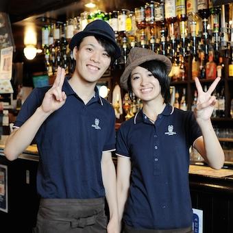 新宿の本気のパブで腕を振るおう。キッチン大募集。週2日よりOK。フルタイム時給1300円!
