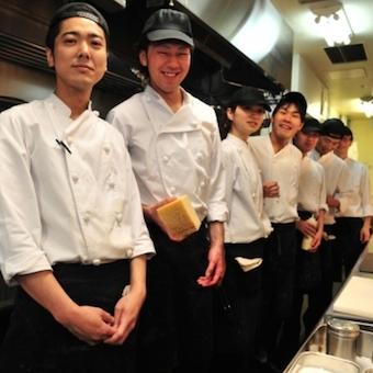 ラグジュアリーな個室ダイニング☆イタリアン・和食を中心とした本格的な創作料理が学ぼう【経験者大歓迎】