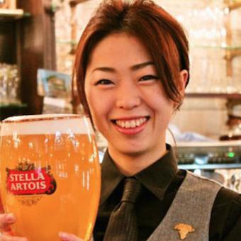 《品川駅直結!!》まかないもあり☆ベルギービールとサービングも学べるホールのお仕事♪