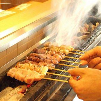 レトロな日本家屋、駅近のお店♪串焼きマイスターこだわりの串焼きを提供します!≪土日祝休み≫