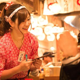 博多屋台の雰囲気で働く☆時給1100円★まかないあり◎社内イベント多数☆