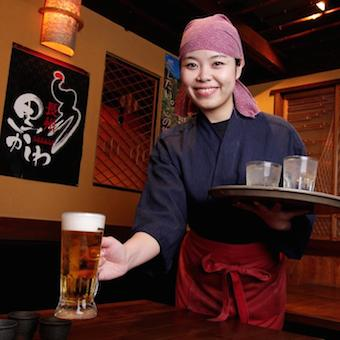 ボーナスなど特典盛りだくさん♪山口郷土料理居酒屋で働く★