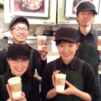 【週1日からOK】オシャレバイト必見☆徒歩2分通勤便利のカフェスタッフ♪