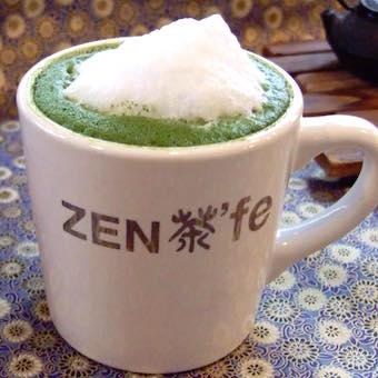 日本茶を使用した豊富なメニュー。お茶の知識が身につく♪