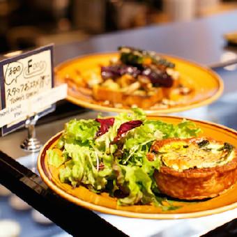 ワンプレートディッシュは魔法のお皿。バランスの良い食事をお客様に。
