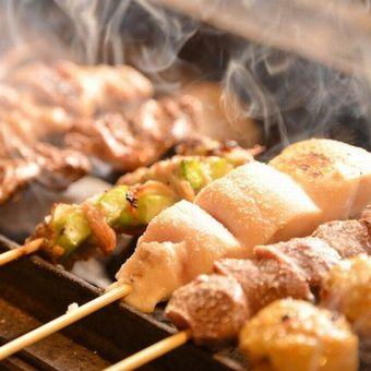 【鶏好き歓迎】鶏を使った美味しいレシピたくさん覚えよう♪焼き鳥も学べます!日曜定休