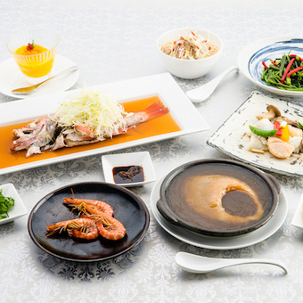 広東料理の伝統的な手法、さらに新しいセンスがここにはあります。