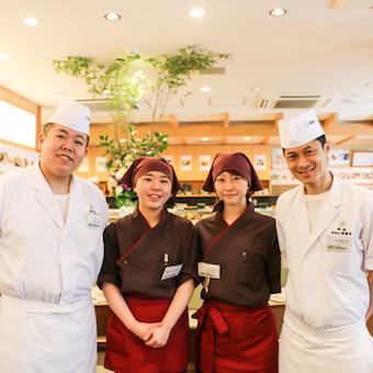 週2日、1日3H〜OKで銀座の超人気寿司店!未経験OK!