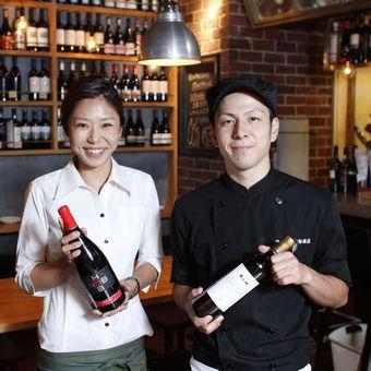 ☆時給1200円★ここにしかないワインと料理♪人を喜ばせることが好きな方歓迎!