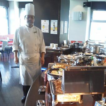ホテル内レストラン♪オリジナルのビュッフェ料理を学ぼう☆西葛西駅徒歩2分