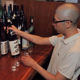 オーナーが毎日。日本酒の品質を管理。日本酒レクチャーもしてくれます。