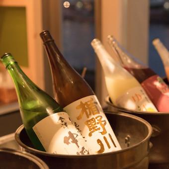 日本酒、焼酎、梅酒、クラフトビールなどお酒にも詳しくなれる♪