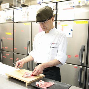 【高時給1200円~&駅近】本物の米沢牛を扱うキッチンのお仕事【まかない付・社員登用有!】