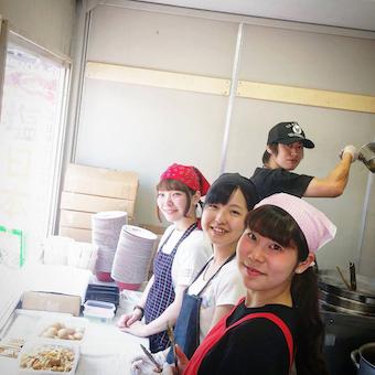日本一を獲得した人気ラーメン店で働こう!イベント好きも、将来お店を持ちたい人も歓迎♪