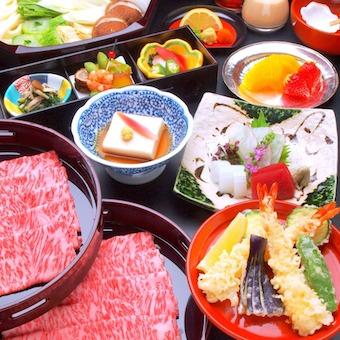 天ぷらやしゃぶしゃぶもご提供。得られる知識も沢山あります。