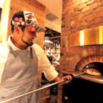 石窯で焼く自家製ピッツァをアナタも作れるようになる!