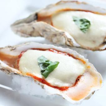 牡蠣を使った様々な料理を提供します♪