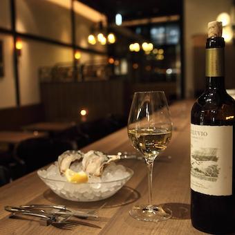 産地直送の牡蠣と手作りのイタリアン!料理に合うワインを提供しよう☆