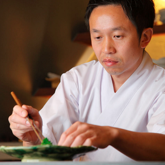 お客様とおいしさと驚きを和食を通じてお伝えしたい。未経験でもやる気がある方はどんどん技術をお教えします。