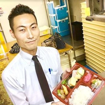 30〜40代が活躍中★仕出し懐石料理の配送と営業のお仕事♪時給1100円★