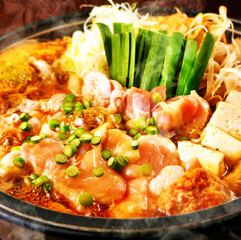 当店看板メニュー!龍馬が愛した軍鶏すき鍋。タダ飯クーポンで食べれますよ♪