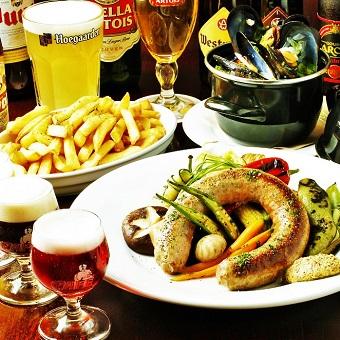 ベルギー料理を学べる!ビールも学べる!キッチンバイト!《週2日・1日4h〜OK》