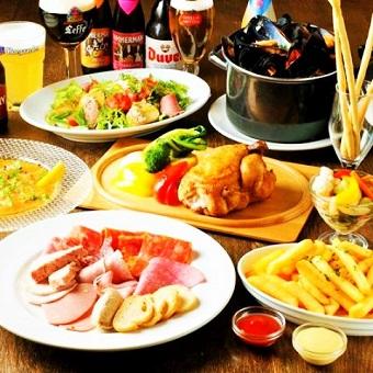 まかないもあり☆ベルギービアカフェでのキッチンのお仕事《品川駅直結!!》