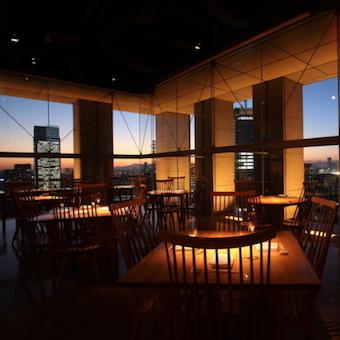 ディナー時給は1200円★山王パークタワー27階から絶景とおいしい料理でおもてなし