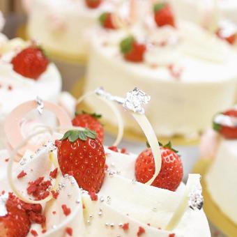 クリスマス限定のケーキ☆