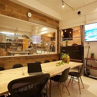 製麺室の隣にある麺庄の新たな拠点。ここから情報発信をしていきます!