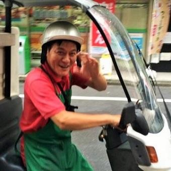 【未経験OK☆】髪型自由で働ける♪バイクに乗って美味しいお弁当をお届けするデリバリー☆