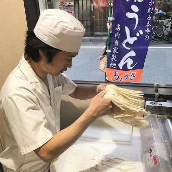 【初心者もOK!】本場讃岐うどん店で天ぷらを極めよう!瀬戸内食材に触れられます♪人形町徒歩2分◎