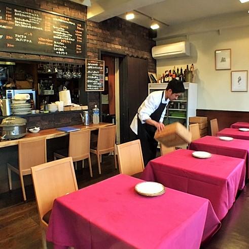 食材にこだわり抜いた三軒茶屋のレストラン。座席数15席の優しいイタリアンで働こう★