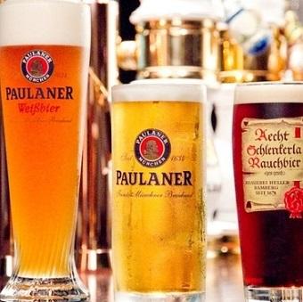 従業員は原価でビールも飲めます!それぞれのビールの特徴を学ぼう♪