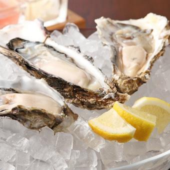 産地直送の厳選生牡蠣にこだわり、今一番美味しい生牡蠣をご提供。牡蠣について本当に詳しくなれます!