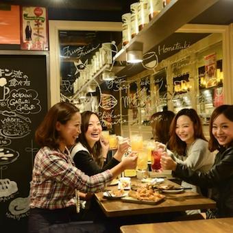 お客さんも若い世代が中心♪肉食系女子からも人気のお店!