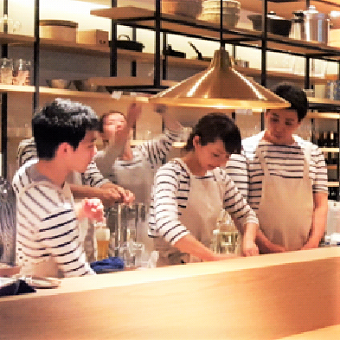 リビングのような雰囲気のお店で家庭料理が得意に!お家で和食が作れるようになる♪